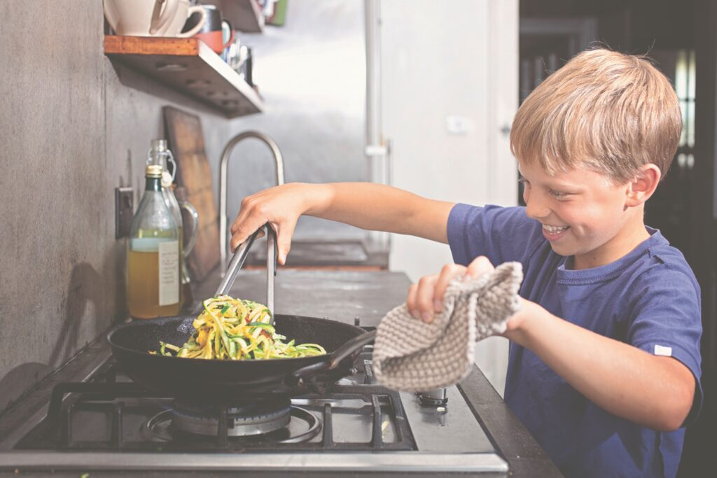 Tips to Get Kids Cooking Safely | Veg Power